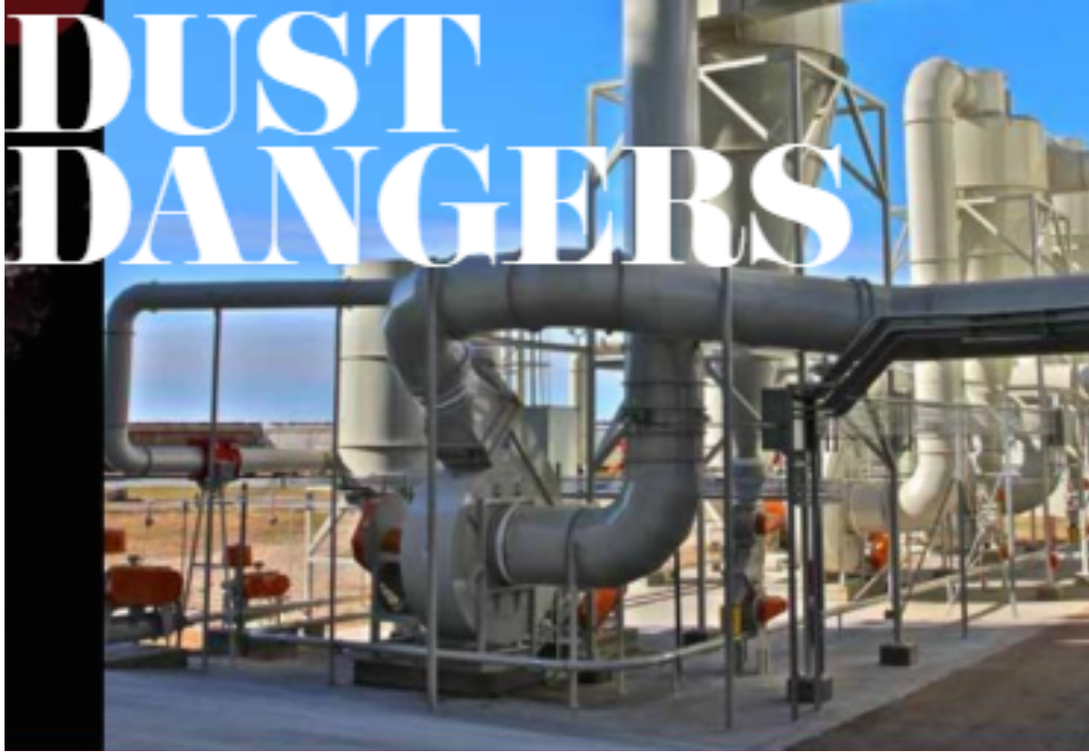 Dust Dangers. The dangers of dust explosions in flour mills