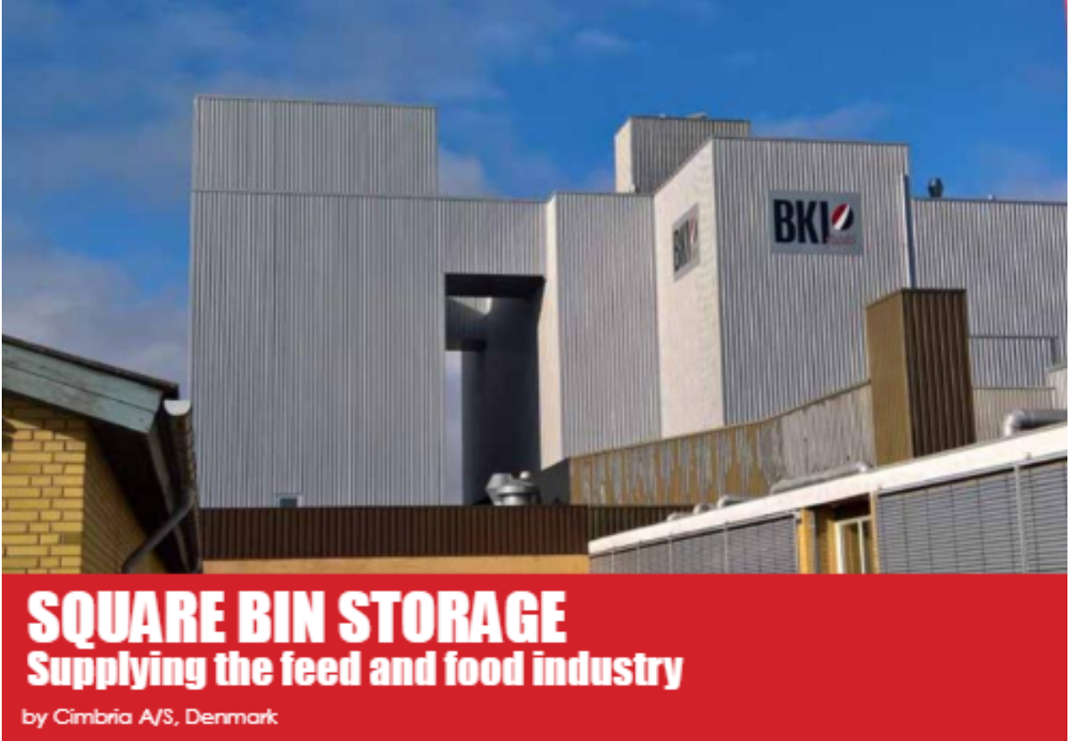 Square Bin Storage. Supplying the feed and food industry