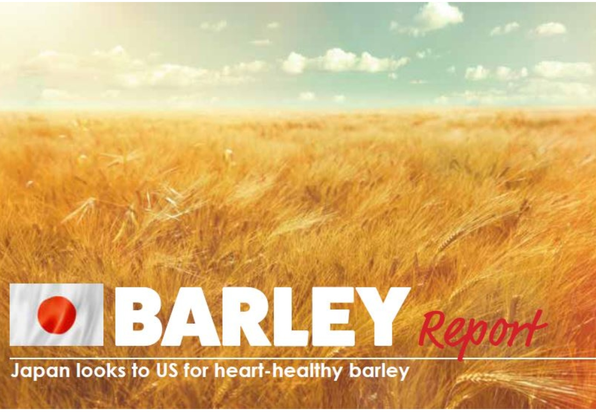 BARLEY Report Japan looks to US for heart-healthy barley