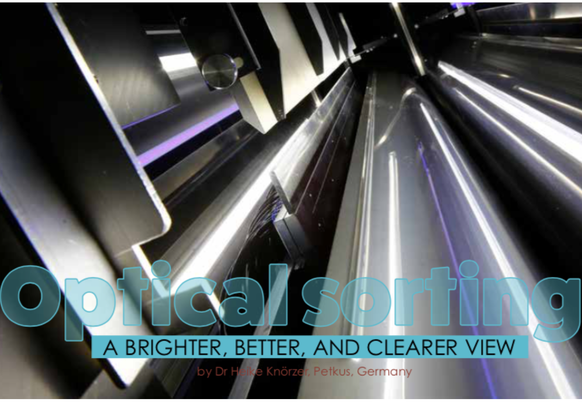 Optical sorting: a brighter, better, and clearer view