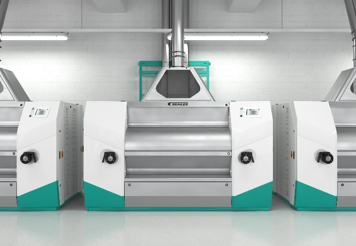 The new Diorit roller mill with leading-edge control