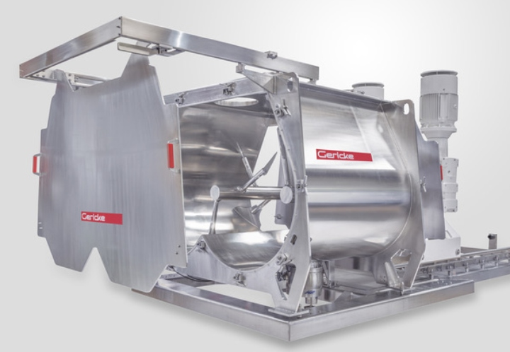 Gericke GMS Batch Mixers: New sizes, new options