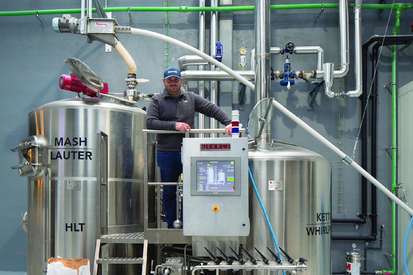 Simplicity drives malt conveyor specification at Madrid brewery