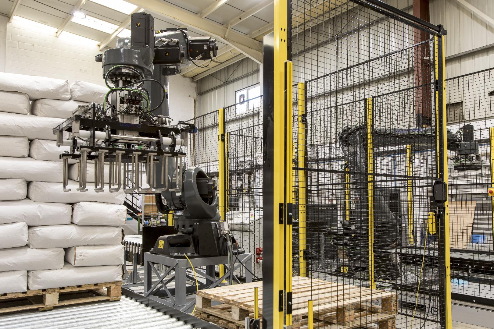 Automated palletising for the milling industry