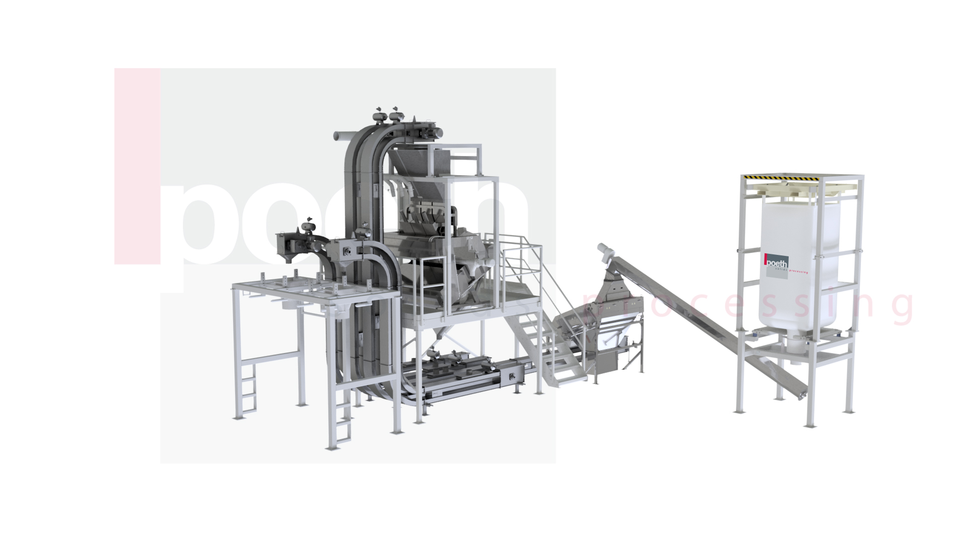 Poeth introduces explosion-proof Mini Z Conveyor for gently transporting powders, grains and granulates: Compact chain conveyor for 0-to-20m3 per hour