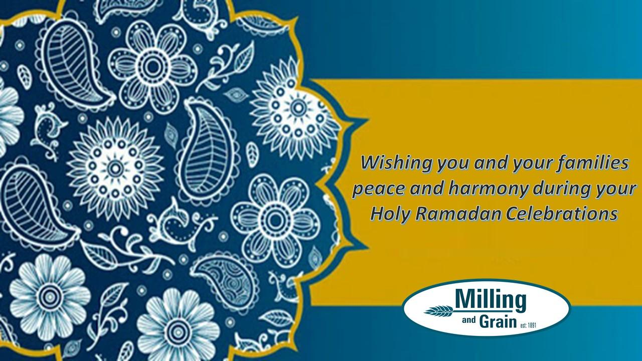 Wishing you and your families peace and harmony during your Holy Celebrations