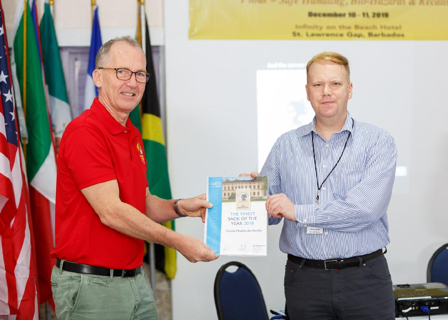 Mühlenchemie names Grands Moulins des Antilles winner of the 'Flour Sack of the Year 2018' award