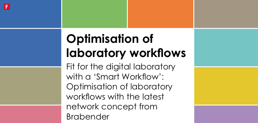Fit for the digital laboratory with a 'Smart Workflow': Optimisation of laboratory workflows with the latest network concept from Brabender
