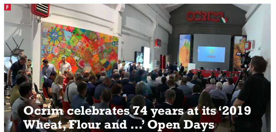 Ocrim celebrates 74 years at its '2019 Wheat, Flour and …' Open Days