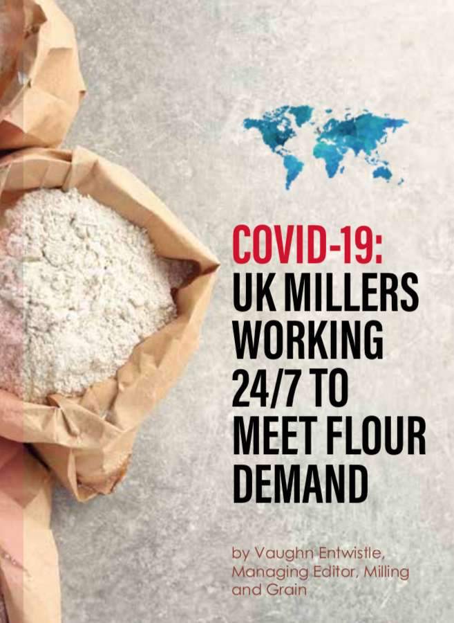 UK millers working 24/7 to meet flour shortages due to COVID-19